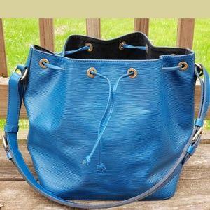 Louis Vuitton Bags - Louis Vuitton Authentic Petit Noe Epi Blue
